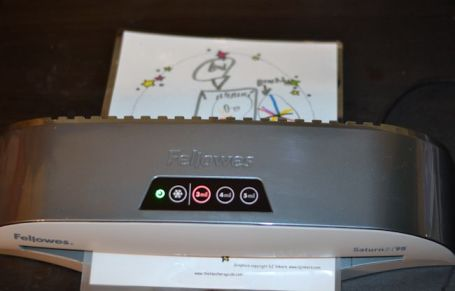 laminator for kid's artwork