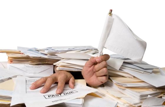 tax time paper purge
