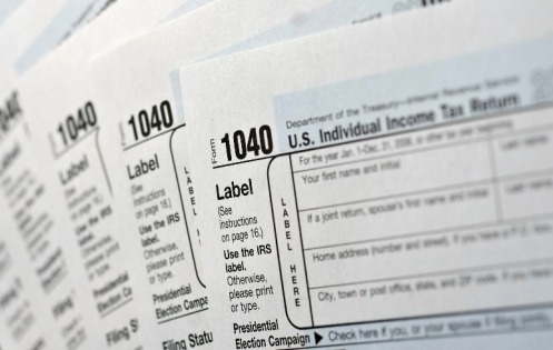 tax form organizer