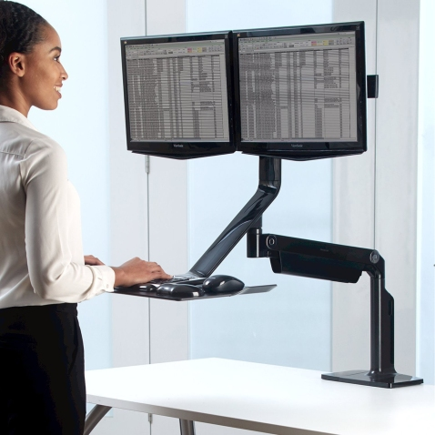 standing desk usage
