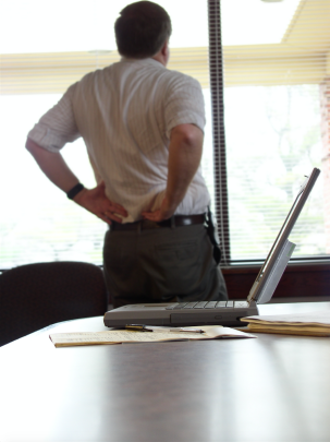 Reduce Back Pain with Standing Desks