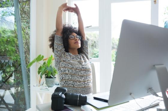 standing desk wellness